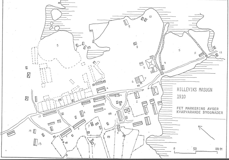 Hilleviks masugn 1910
